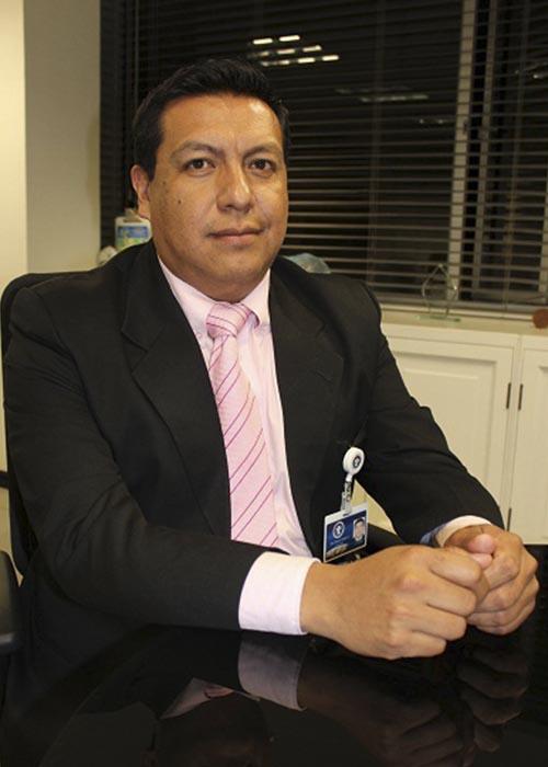 Miembro CESAR MAURICIO CALVACHE GONZALES Profesión: Ingeniero industrial  Fecha de nombramiento o elección: Noviembre 26 de 2012
