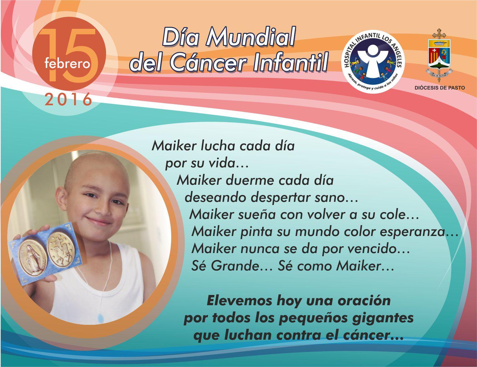 Día Mundial Lucha contra el Cancer Infantil