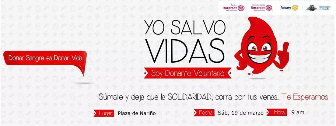 Marzo 10. Campaña de Donación de Sangre