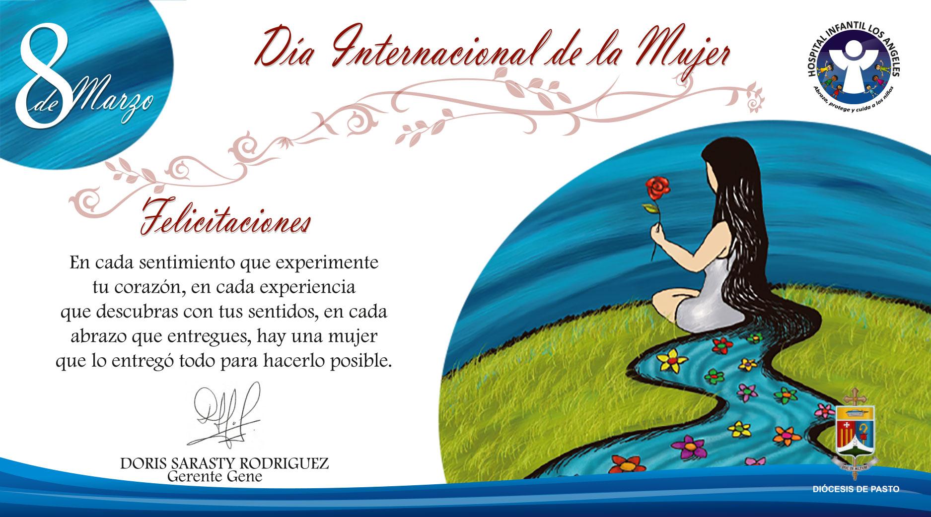 La Fundación Hospital Infantil Los Ángeles les desea un Feliz Día Internacional de la Mujer