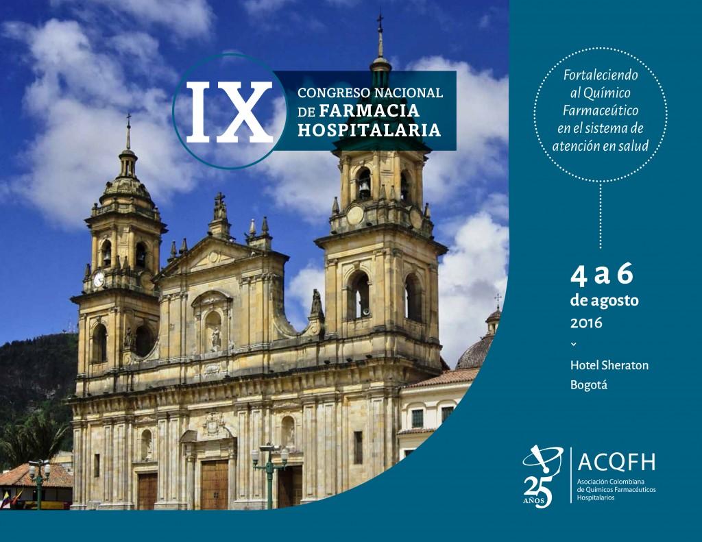 IX Congreso Nacional de Farmacia Hospitalaria