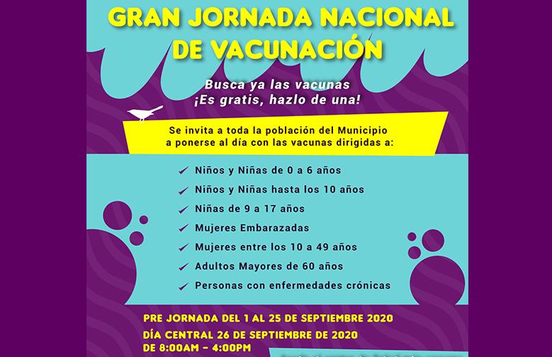 GRAN JORNADA NACIONAL DE VACUNACIÓN