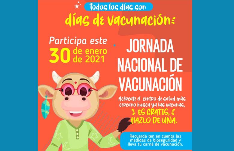 PRIMERA JORNADA NACIONAL DE VACUNACIÓN 2021