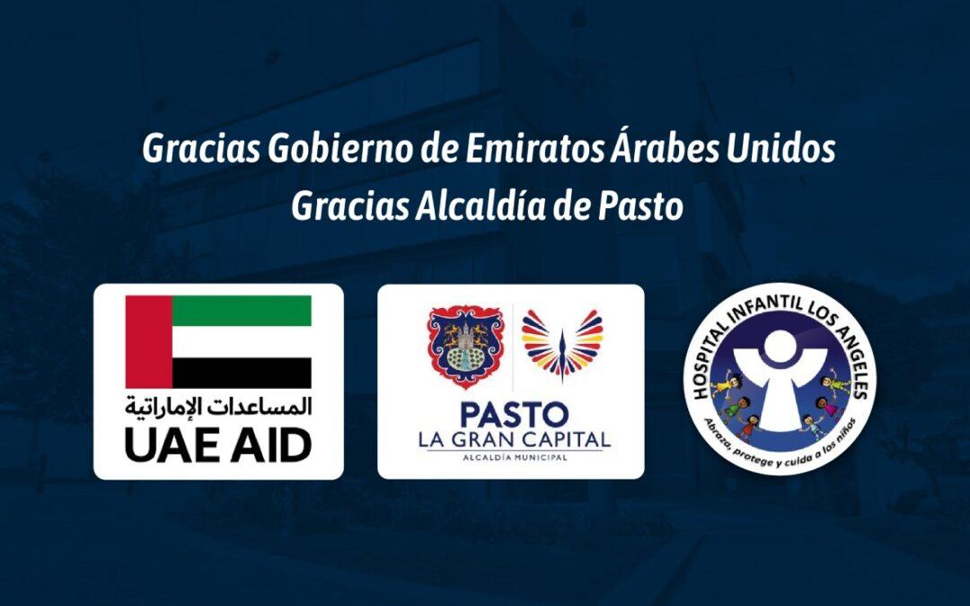 Donación Emiratos Árabes Unidos