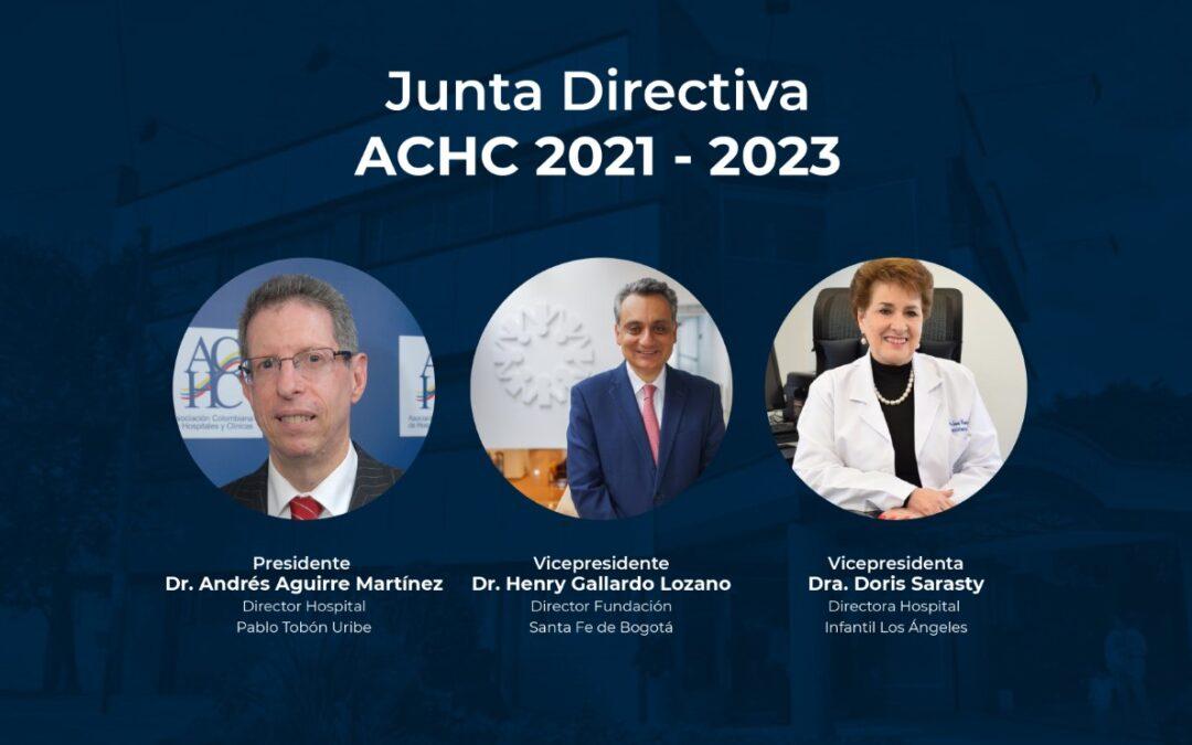 Reunión extraordinaria, la Junta Directiva ACHC 2021 – 2023