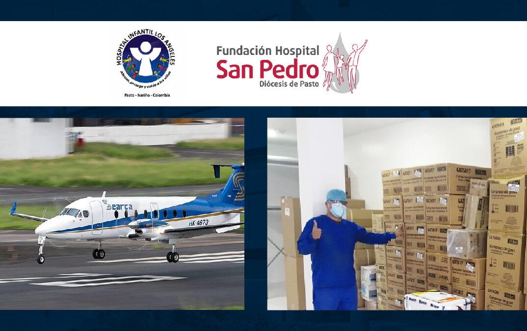 Hospitales Infantil Los Ángeles y San Pedro afrontan unidos y con resiliencia las consecuencias del paro nacional